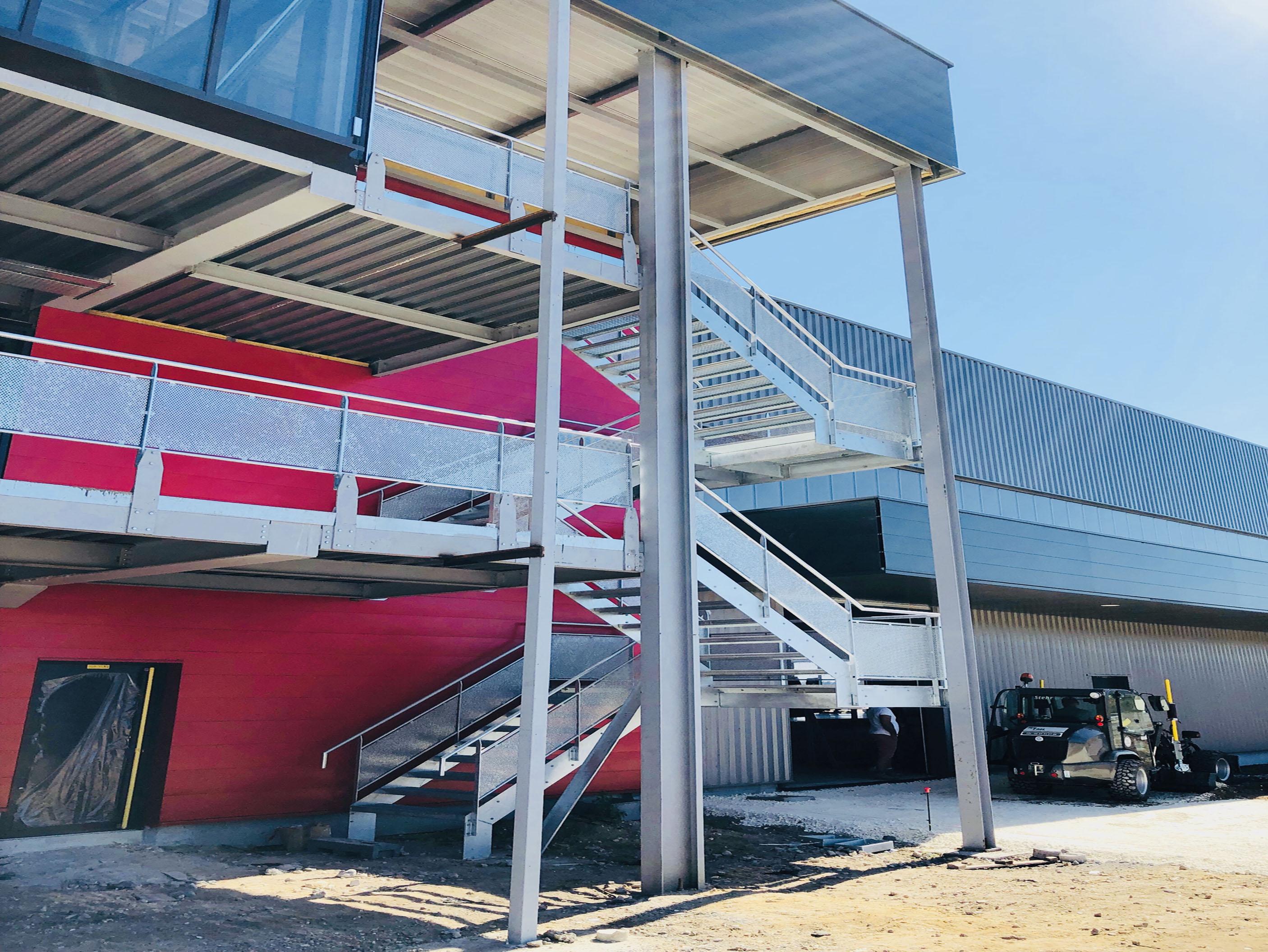 Escalier Bureaux AGRI 33- Bordeaux